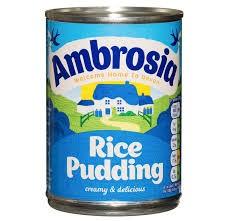 Custard and Rice Pudding